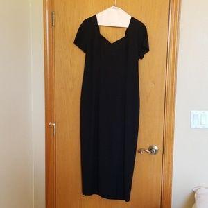 Liz Claiborne Black Dress Elegant Semi Formal